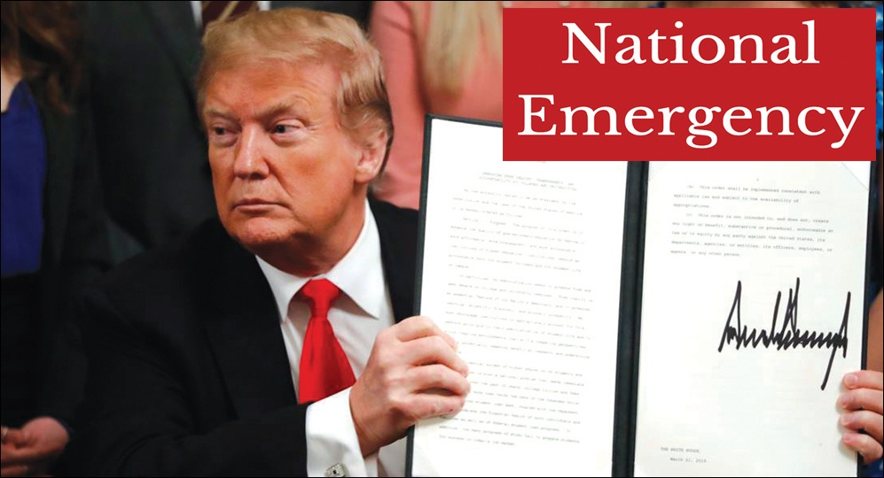 President Trump declares national emergency against foreign telecom companies to prevent cyber attacks