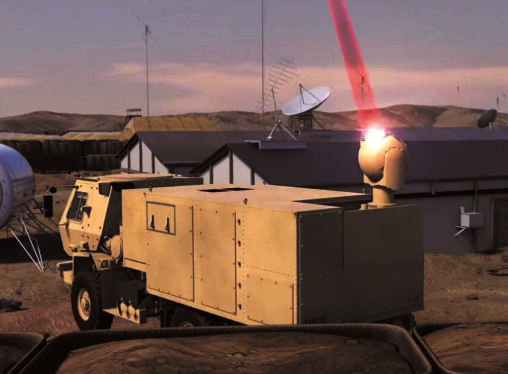 Super lasers will be able to intercept nuclear-capable hypersonic missiles, claims Raytheon