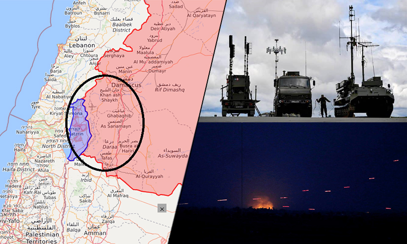 Syrian media claims Israel initiated 'electronic warfare' against state radars rendering air defence systems ineffective
