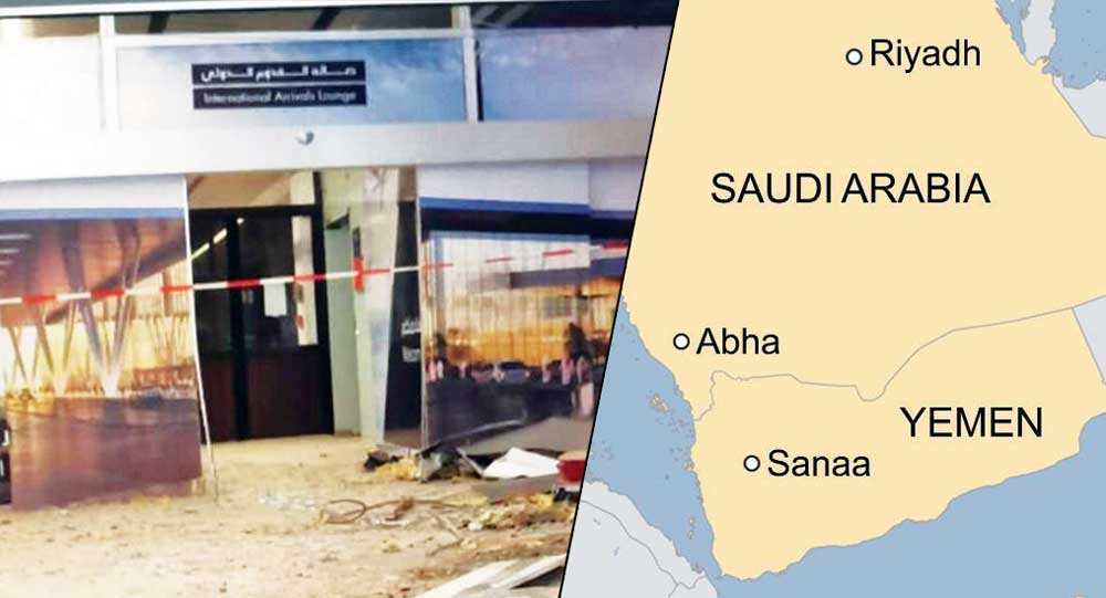 Yemen's Houthi rebels launch drone attacks on two Saudi airports again
