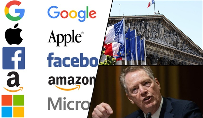 France imposes Digital Tax on US tech giants; may spark Franco-US trade war