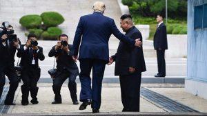 अणुचर्चा, तणाव, DMZ border, राष्ट्राध्यक्ष ट्रम्प, दौरा, दक्षिण कोरिया