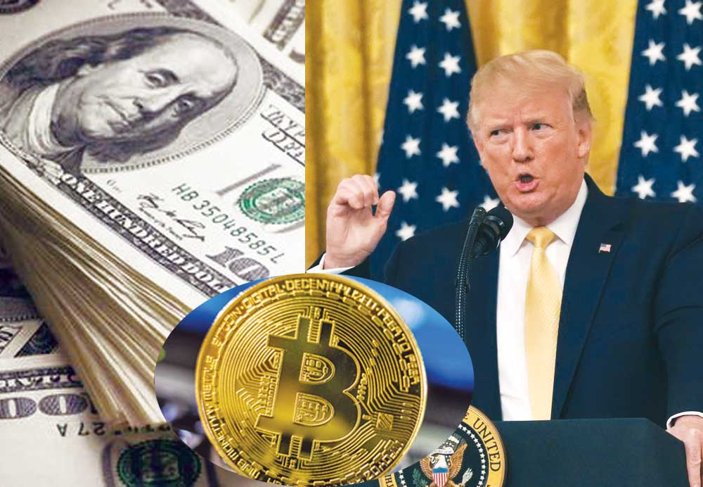 Trump expresses uncertainty over Facebook's Libra, other cryptocurrencies, says 'US dollar is the only real US currency in the world'