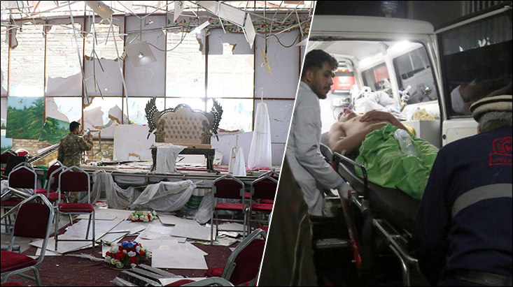 Amid US-Taliban peace talks, suicide bomb attack in Afghanistan leaves 63 dead and injures over 180