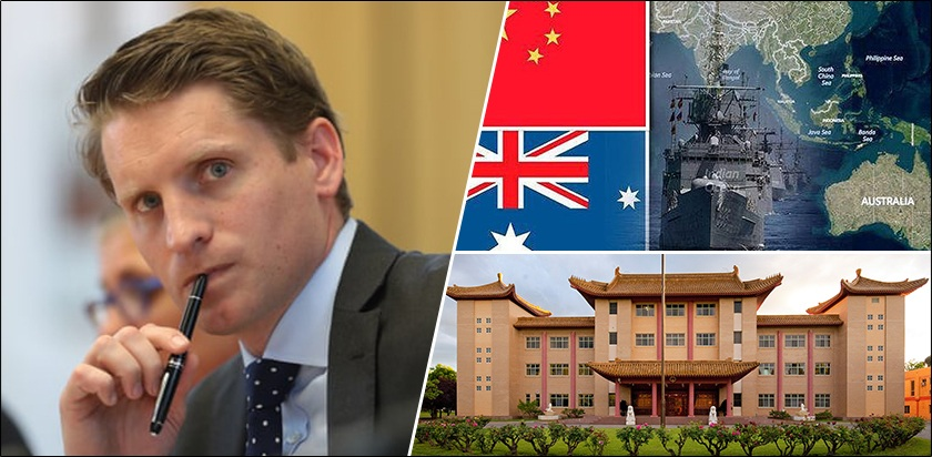 Monstrous Chinese ambition and militarisation similar to Nazi Germany in Second World War, warns prominent Australian lawmaker, Andrew Hastie