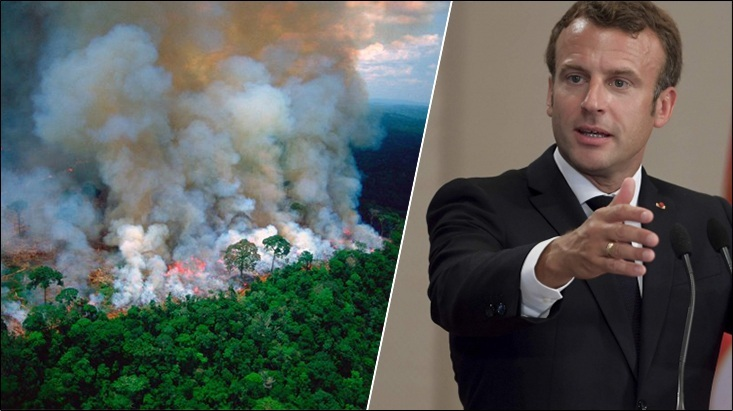 Amazon Fires: 'Our house is burning' – French President Macron asks for talks at G7 on the emerging Global Crisis
