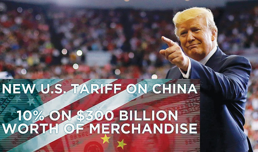 President Trump slaps additional tariffs on remaining $300 billion in Chinese imports