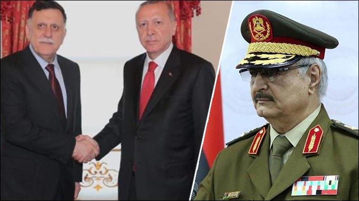 तुर्कीचे कंत्राटी सैनिक व दहशतवादी लिबियात दाखल – लिबियन बंडखोरांचा आरोप