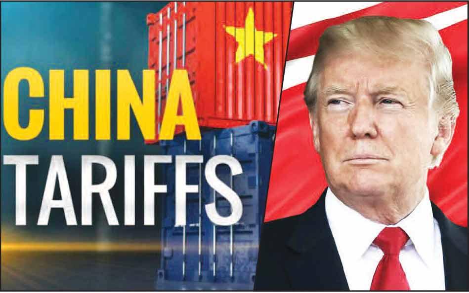अमेरिका-चीन व्यापारयुद्धाचा तीव्र भडका – ट्रम्प यांच्याकडून चीनच्या ५५० अब्ज डॉलर्सच्या उत्पादनांवर करांची घोषणा