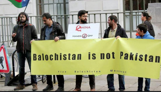 Baloch activists observe Balochistan Independence Day in UK and Germany