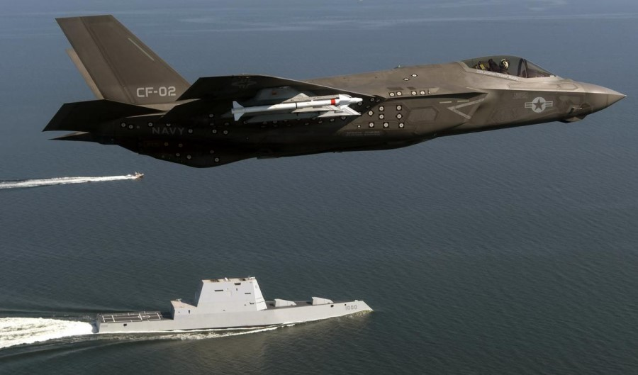 US Air Force F-35 fighter aircraft to serve as airborne radar for the military
