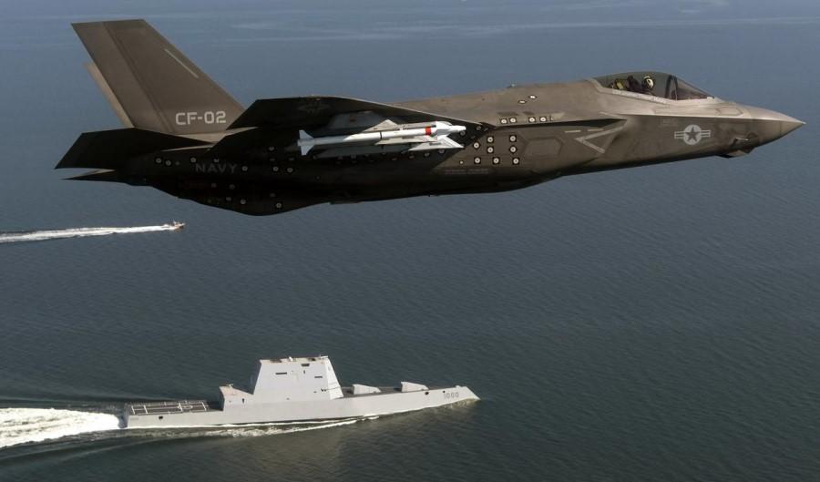 अमेरिकेचे 'एफ-३५' लष्करासाठी हवेतील रडारचे काम करणार