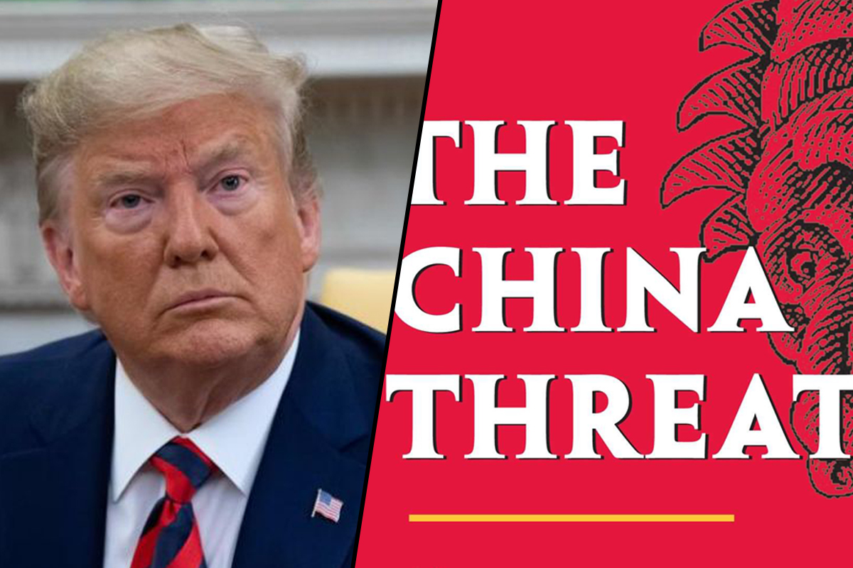 China is a threat to the world: US President Donald Trump