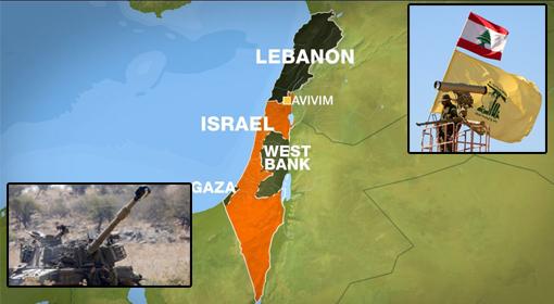 इस्रालय ने लेबनान पर दागे तोप के गोलें –हिजबुल्लाह ने इस्रायल को नए संघर्ष की धमकी दी