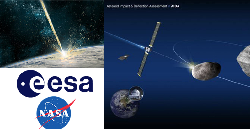 NASA, ESA ready for first-ever Planetary Defence Mission – AIDA, Asteroid Impact and Deflection Assessment
