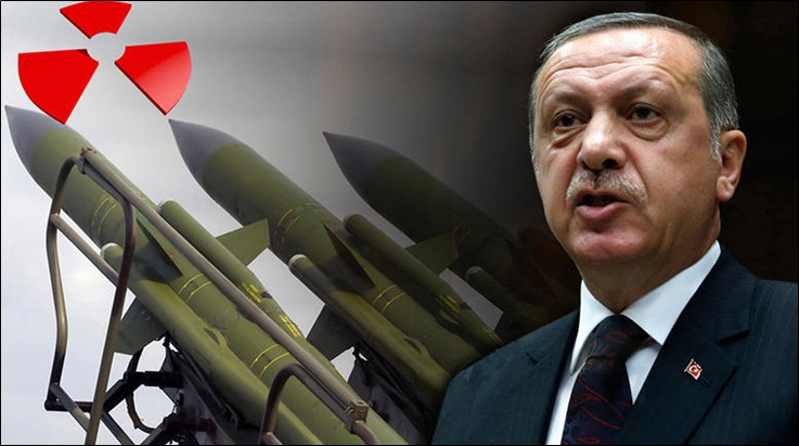 President Erdogan says Turkey has the right to go nuclear just like Israel