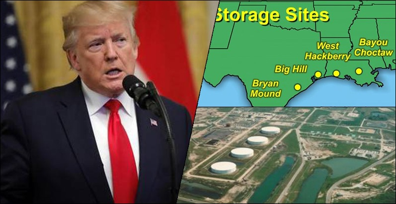 Trump authorises release of US Strategic Oil Reserve after attacks on Saudi oil facilities