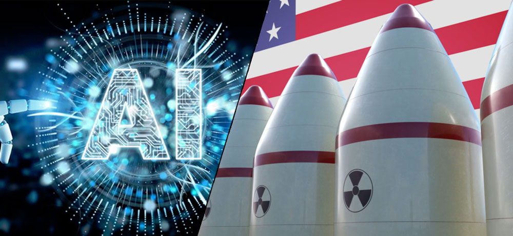 Allowing AI-based systems to operate lethal nuclear weapons may prove dangerous: Ex-US Dy Defence Secretary