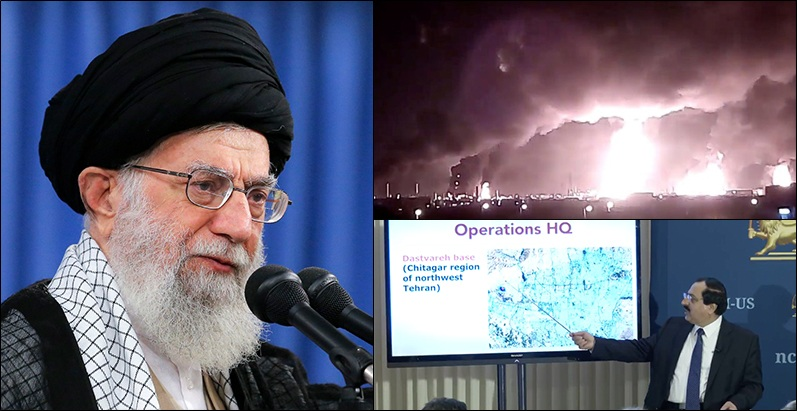 Khamenei, ordered attacks, NCRI, Ayatollah Khamenei, United Nations, military movements, Iran, Saudi Arabia, United Kingdom