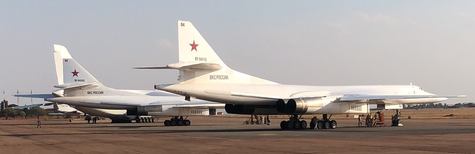 As first-ever 'Russia-Africa Summit' is being held, two nuclear-capable Russian bombers land in South Africa