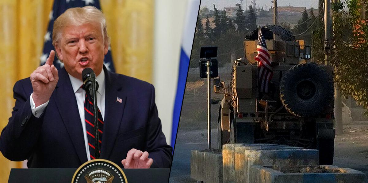 सिरियातील प्रदीर्घ युद्धातून अमेरिकेची माघार – राष्ट्राध्यक्ष डोनाल्ड ट्रम्प