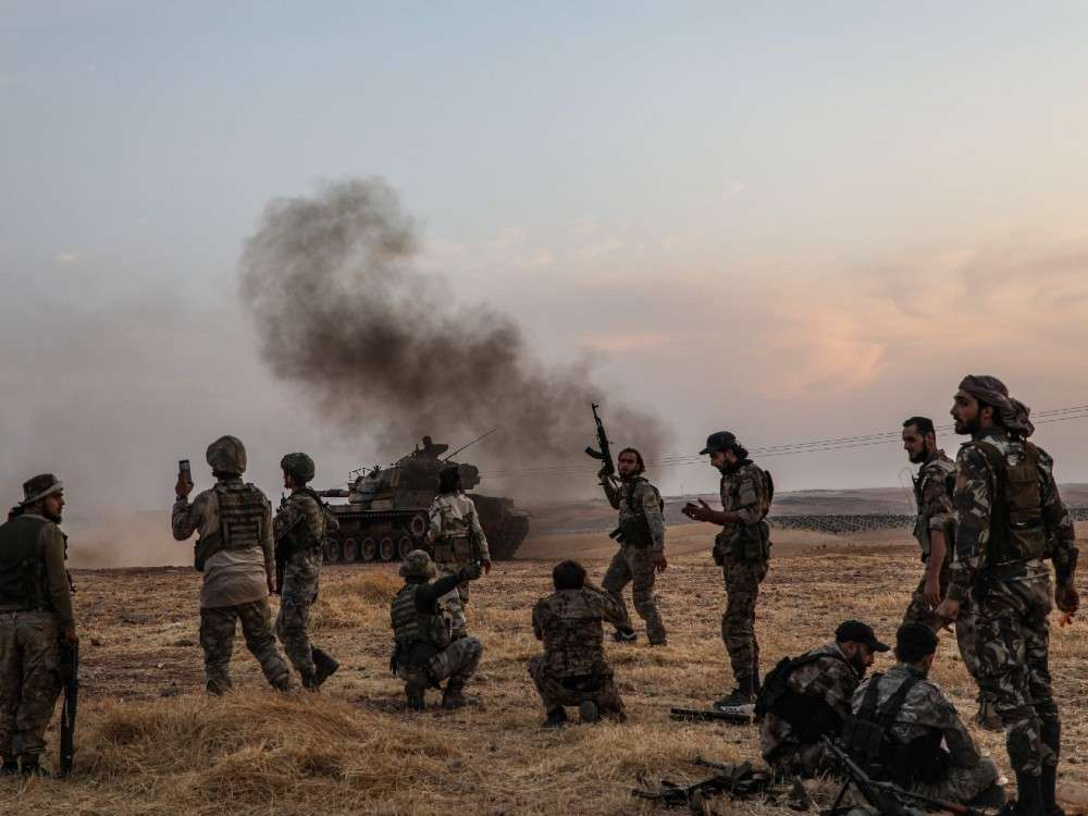 As Turkey intensifies attacks, Syrian forces and Kurds launch strong counter-attacks