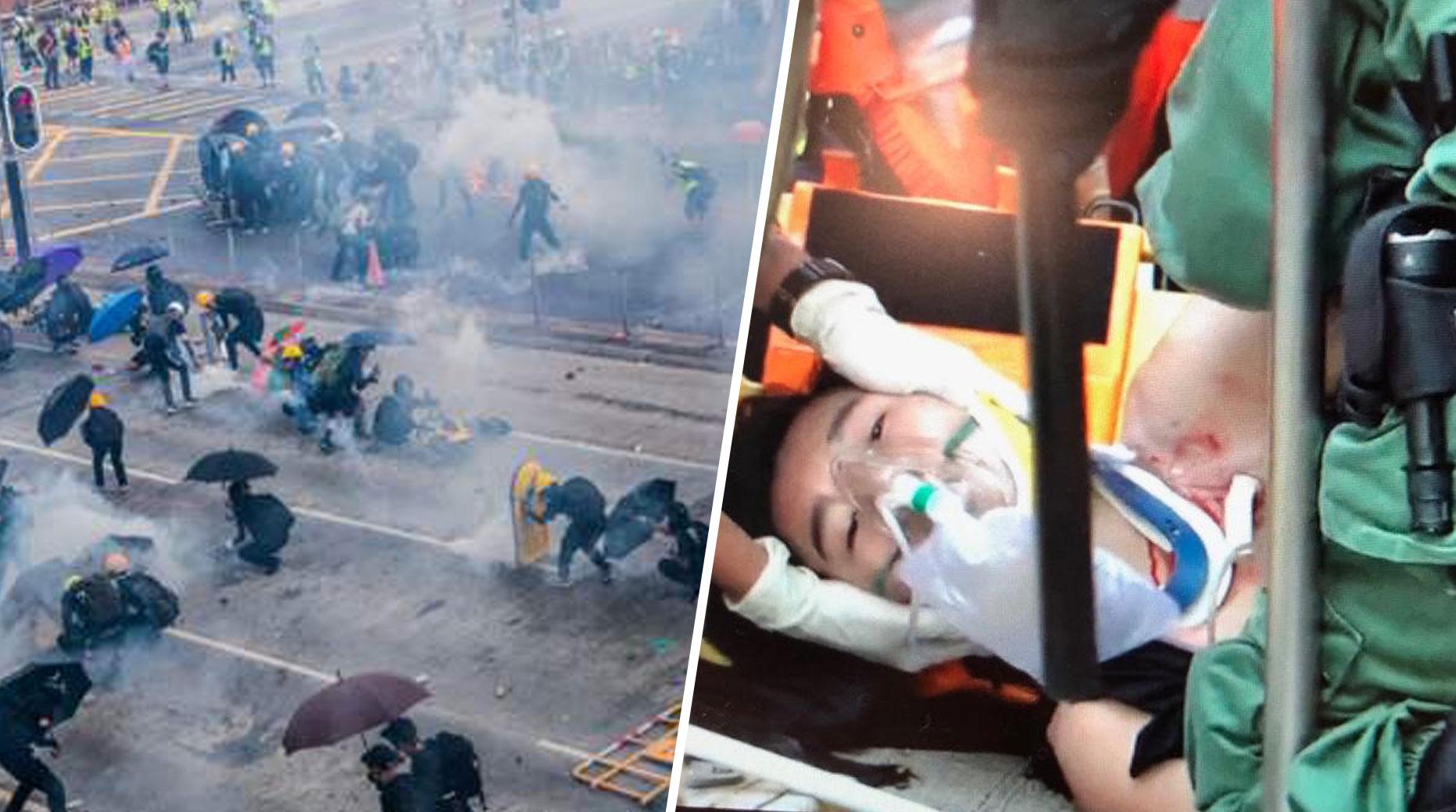 चीन के राष्ट्राध्यक्ष ने रखा 'एक देश, दो व्यवस्था' का प्रस्ताव ठुकराकर हॉंगकॉंग के प्रदर्शनकारियों ने किए तीव्र प्रदर्शन