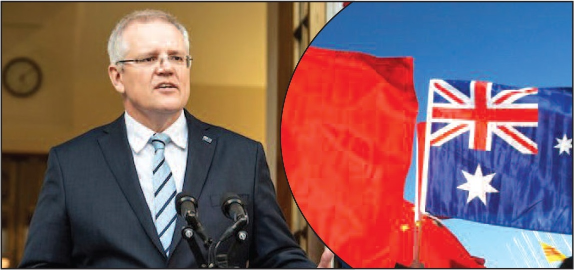 ऑस्ट्रेलिया, जांच, स्कॉट मॉरिसन, वैंग विल्यम, संघर्ष, चीन, निक झाओ