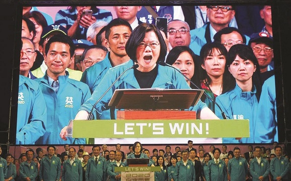 'enemy of democracy', elections, Tsai Ing-wen, democracy, allegations, Taiwan, China, NATO