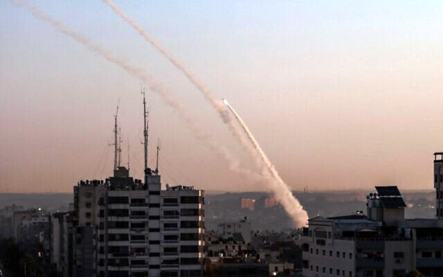 'Islamic Jihad' unleashes a barrage of rockets at Israel after its terror leader is killed in Israeli air raid