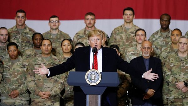 US will engage in talks with Taliban if they agree upon a ceasefire in Afghanistan: President Trump