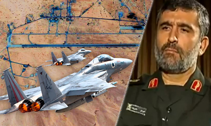 8 Iranian soldiers killed during air raids in Syria, IRGC air chief narrowly escapes