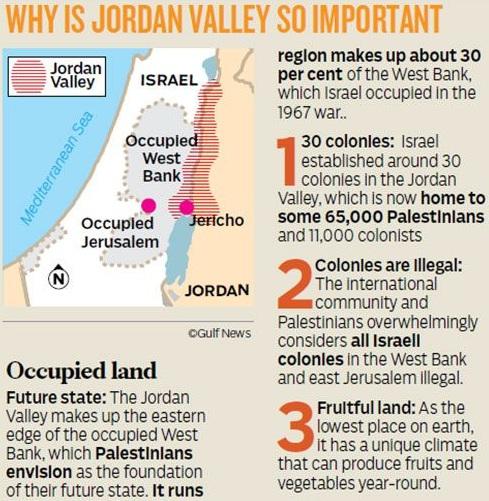 'जॉर्डन वैली' पर कब्जा करने के लिए ऐतिहासिक अवसर– इस्रायली प्रधानमंत्री नेत्यान्याहू ने किया ट्रम्प से निवेदन