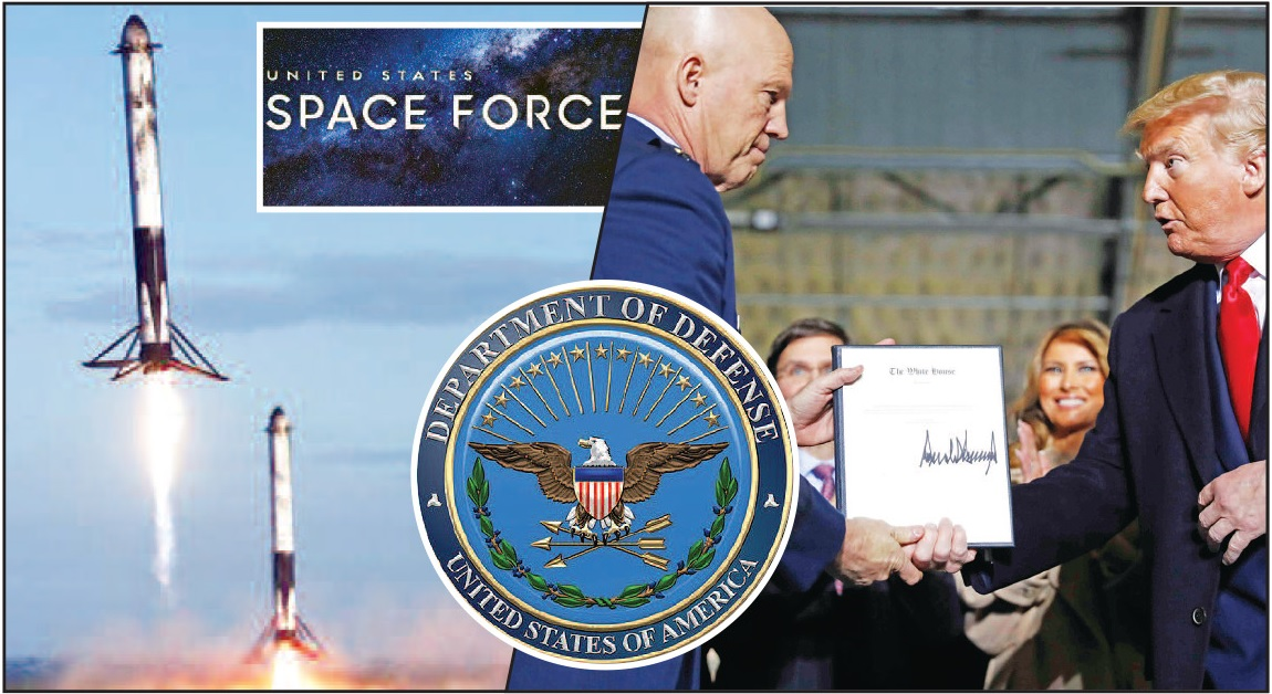 US offcially launches Space Force to counter Russia, China threats in space
