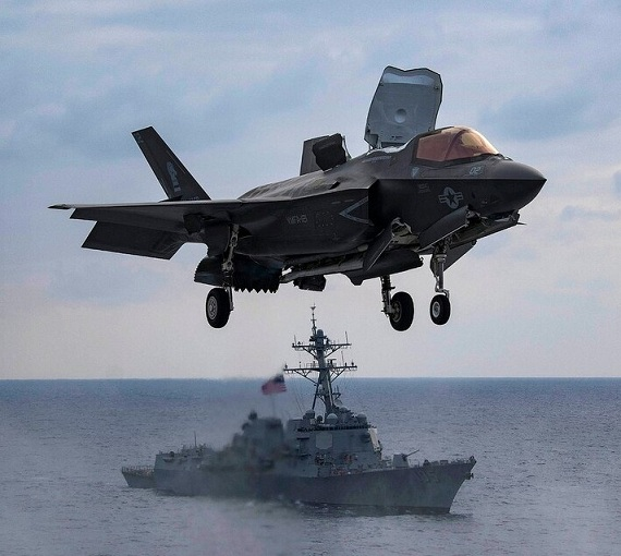 US to supply F-35s to Singapore to counter growing Chinese aggression in South China Sea