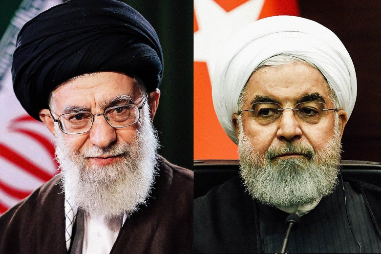 Differences between Iranian supreme leader Khamenei and President Rouhani intensify, claims a US daily