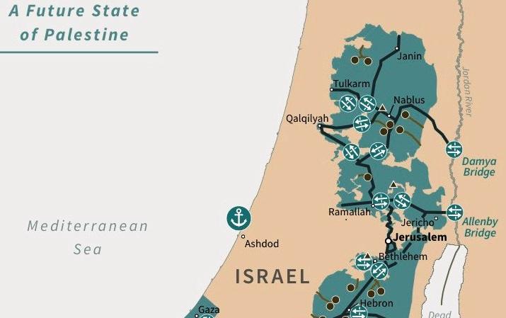 'Deal of the Century', resolving Israel-Palestine issue, Benjamin Netanyahu, Donald Trump, Jerusalem, Jewish settlements, Washington