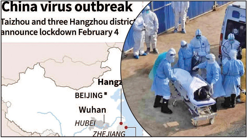 China's top leadership admits to 'shortcomings' in its response to containing Coronavirus outbreak