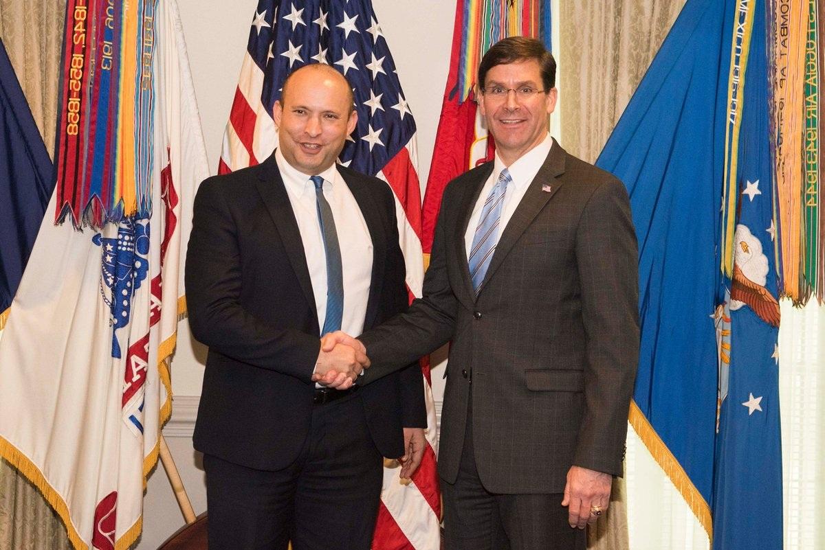 अमेरिका आणि इस्रायल संयुक्तरित्या आखातातील इराणचा प्रभाव रोखणार – इस्रायलचे संरक्षणमंत्री नफ्ताली बेनेट