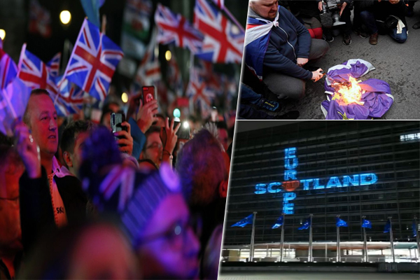'BREXIT' finally done, UK steps out of EU, Scotland indicates differently