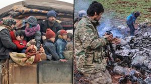 Syrian forces, attacks, Assad government, migration, Idlib, Aleppo, Turkey