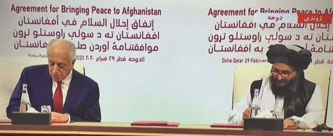 US-Taliban sign long-awaited 'Peace deal' in Doha paving way for ending 18-year-old Afghan war