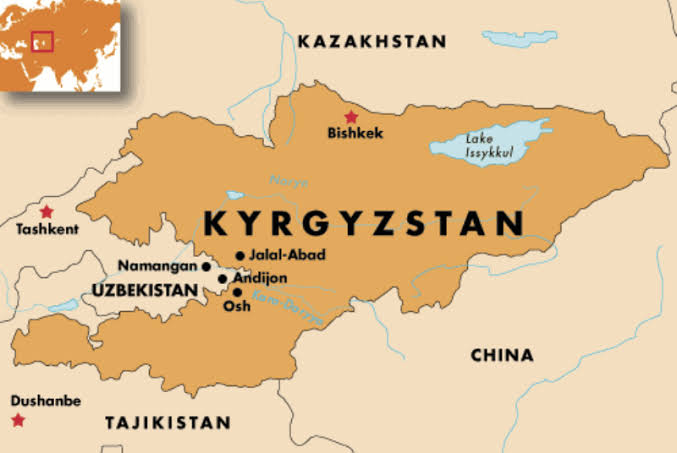 China now claims its right over Kyrgyzstan and Kazakhstan