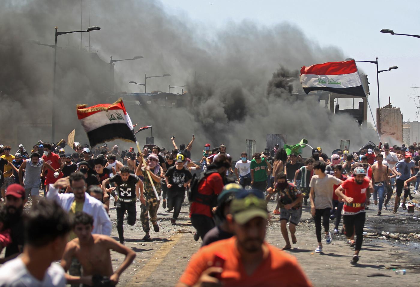 Protestors warn new Iraq govt of demonstrations if their demands for fresh polls aren't met