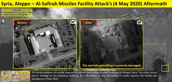 Israeli airstrikes destroyed Iran-backed Hezbollah's chemical weapons base in Syria, satellite images reveal