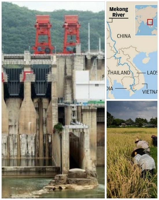 China's dams over Mekong River hitting downstream nations with drought, affirm think tanks