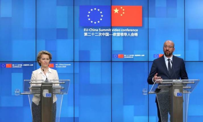 EU warns China of negative consequences over Hong Kong law