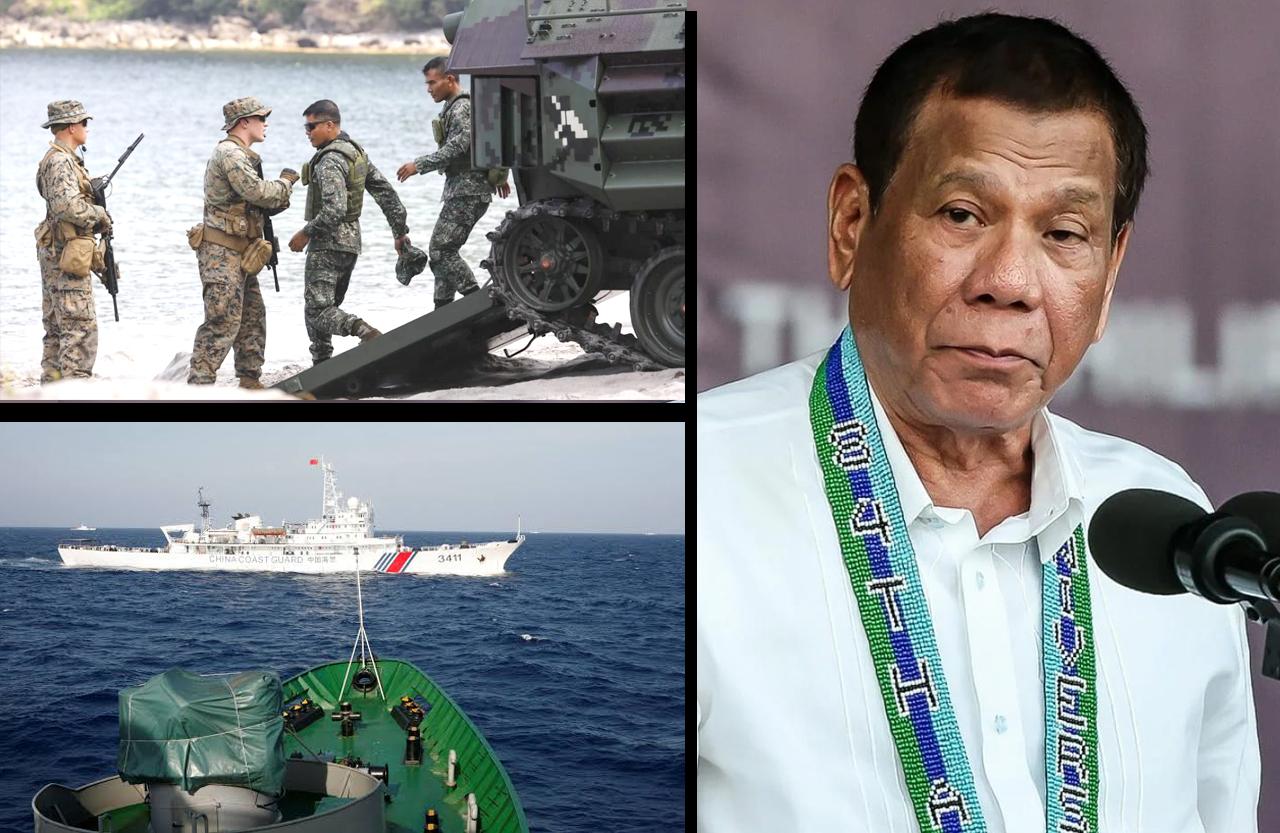 फिलिपीन्स अमरीका की सेनातैनाती बरक़रार रखेगा