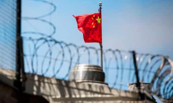 पाँच लोग गिरफ़्तार, अमरीका, चीन