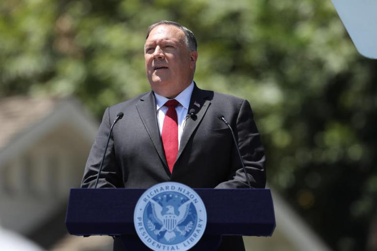 Ex-US President Nixon's fears on creating a Frankenstein by opening world to CCP have turned real: US State Secretary Pompeo